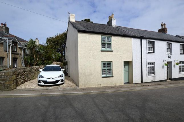 Thumbnail End terrace house for sale in Tyringham Road, Lelant, St. Ives, Cornwall