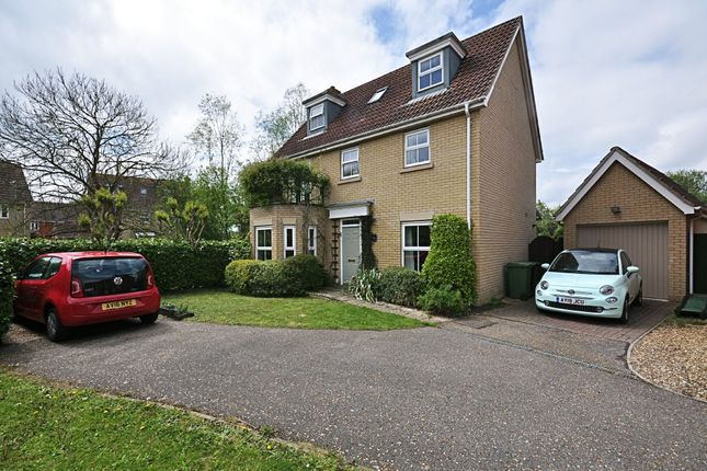 Thumbnail Detached house for sale in Viscount Close, Diss