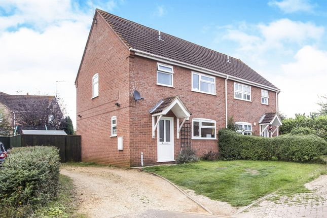 Thumbnail Semi-detached house for sale in Philip Rudd Court, Pott Row, King's Lynn