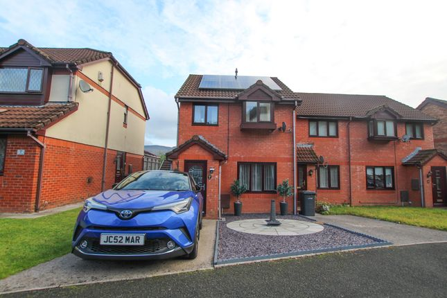 Thumbnail End terrace house for sale in Forest View, Glenboi, Mountain Ash