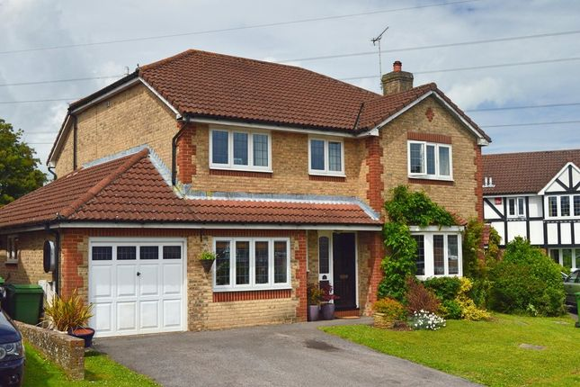Thumbnail Detached house for sale in Bentley Close, Horndean, Waterlooville