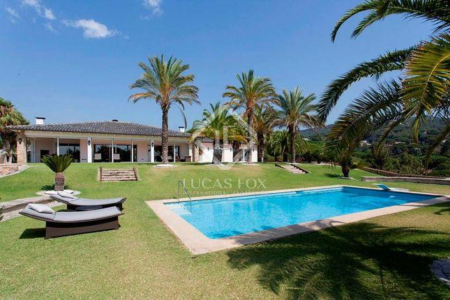 Thumbnail Villa for sale in Spain, Barcelona North Coast (Maresme), Sant Andreu De Llavaneres, Lfs4362