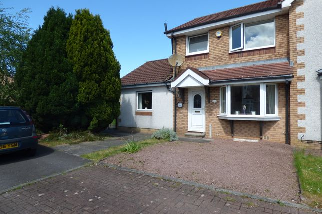 Thumbnail Semi-detached house for sale in Jericho Place, Heathhall, Dumfries