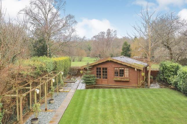 Rear Garden of Brookledge Lane, Adlington, Macclesfield, Cheshire SK10