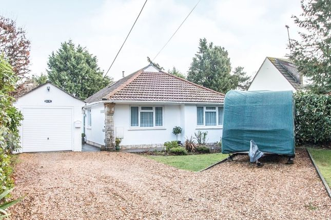 Thumbnail Detached bungalow for sale in Post Office Lane, St. Ives, Ringwood