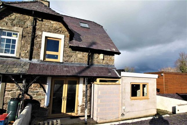 Thumbnail Semi-detached house for sale in Railway Cottages, Llangaffo, Gaerwen