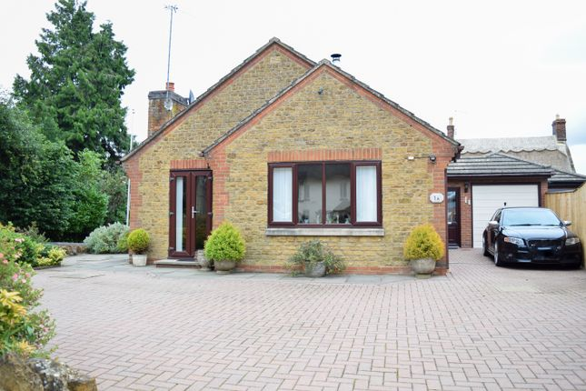 Thumbnail Detached bungalow for sale in The Walk, Spratton
