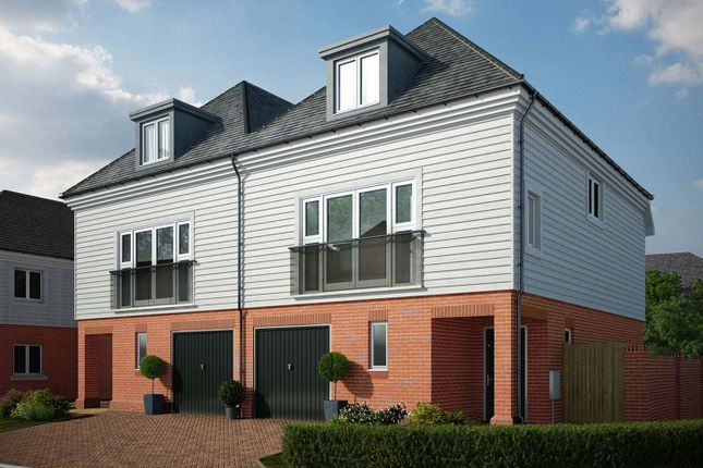 "Thumbnail Semi-detached house for sale in ""The Athlone"" at Avery Hill Road, London"