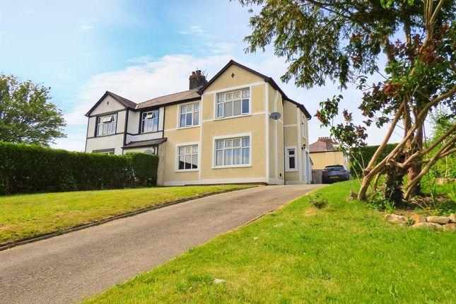 Thumbnail Semi-detached house for sale in West Road, Bridgend