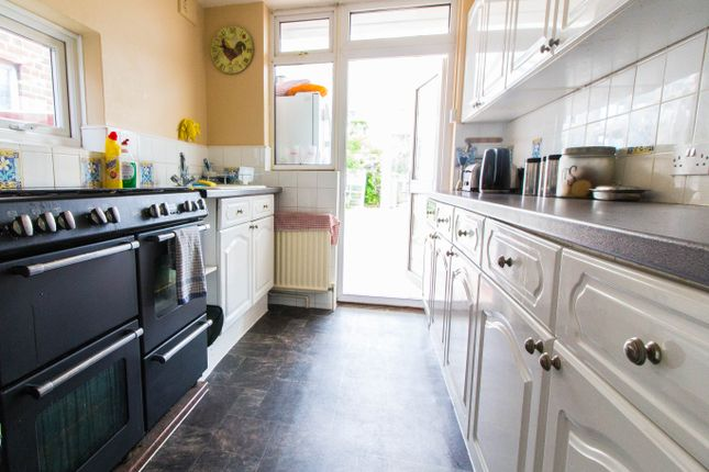 Thumbnail End terrace house for sale in Halidon Rise, Romford