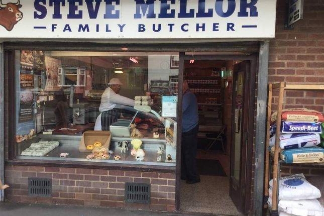 Thumbnail Retail premises for sale in Mellors Butchers, Nuneaton