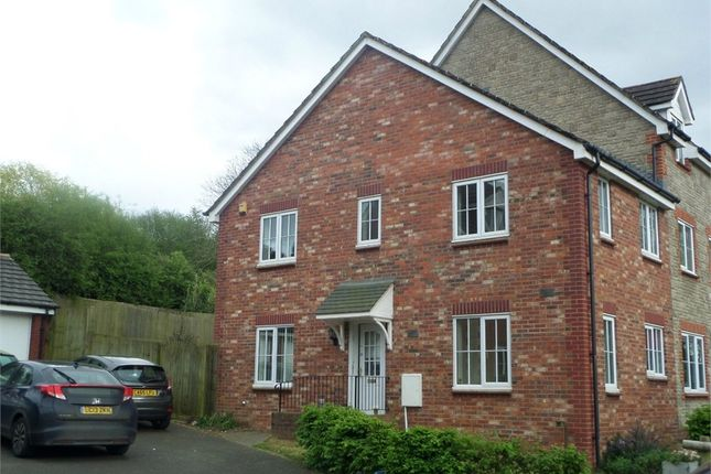 Thumbnail End terrace house to rent in Woolpitch Wood, Chepstow, Monmouthshire