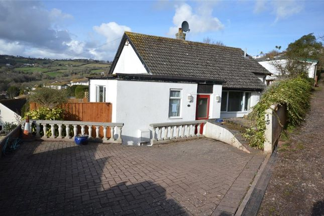 Thumbnail Detached bungalow for sale in Deer Park Drive, Teignmouth, Devon