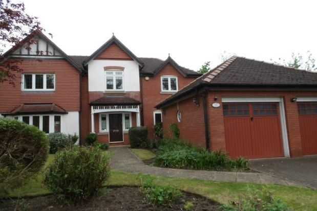 Thumbnail Detached house to rent in Kingsbury Drive, Wilmslow
