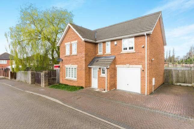 Thumbnail Detached house for sale in Ronchin Gardens, Kirkby-In-Ashfield, Nottingham
