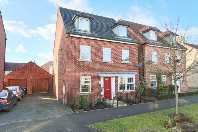 Thumbnail Detached house for sale in Aitchison Avenue, Hucknall, Nottingham