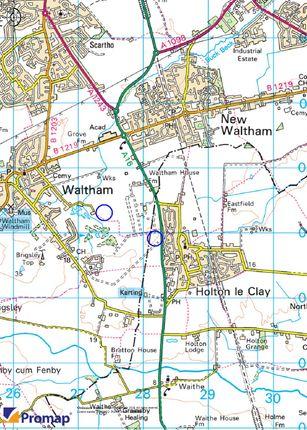 Location Plan of Pelham Road, Holton-Le-Clay, Grimsby DN36
