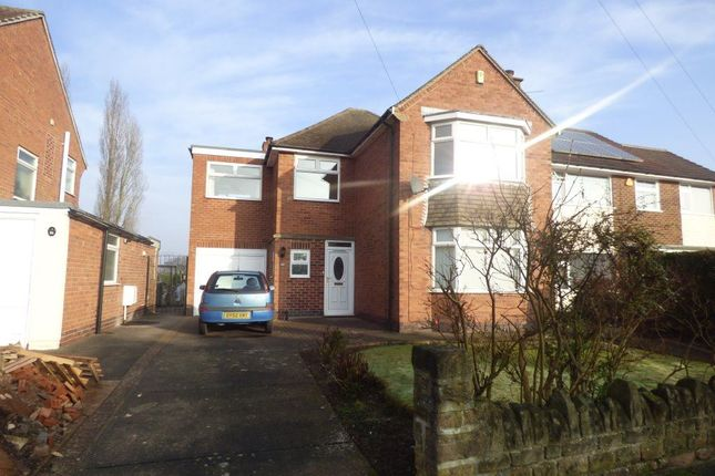 Thumbnail Detached house to rent in Balmoral Drive, Bramcote, Nottingham