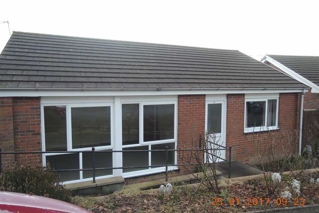 Thumbnail Detached bungalow to rent in 29, Tanyrallt, Llanidloes, Powys