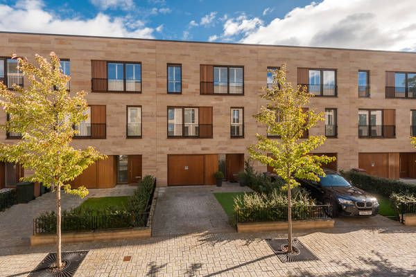 Thumbnail Town house for sale in Wallace Gardens, Edinburgh