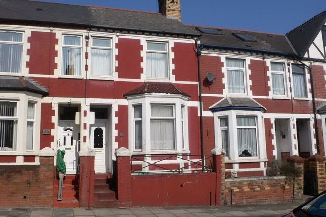 Thumbnail Terraced house to rent in Andrew Road, Penarth