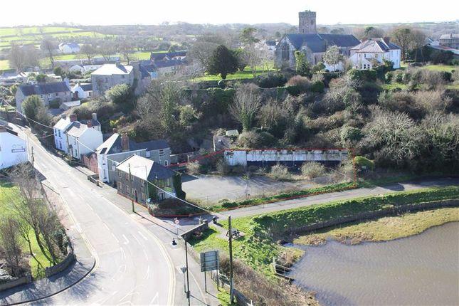 Thumbnail Land for sale in Monkton Bridge, Monkton, Pembroke