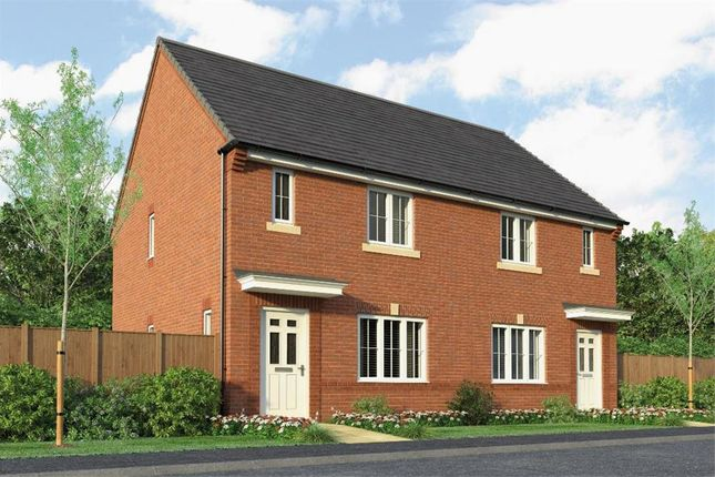 "Thumbnail Semi-detached house for sale in ""The Hurston"" at Park Road South, Middlesbrough"