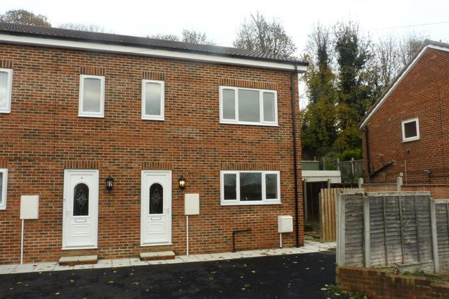 Thumbnail Semi-detached house for sale in Hough End Close, Bramley, Leeds