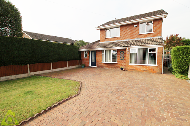 Thumbnail Detached house for sale in Captain Lees Road, Westhoughton