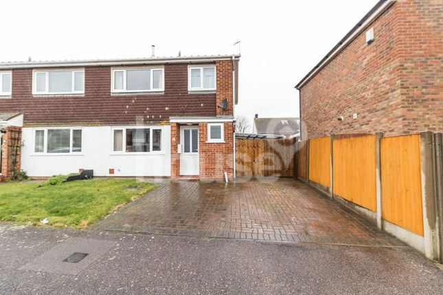 Thumbnail Semi-detached house for sale in Raleigh Way, Minster On Sea, Sheerness