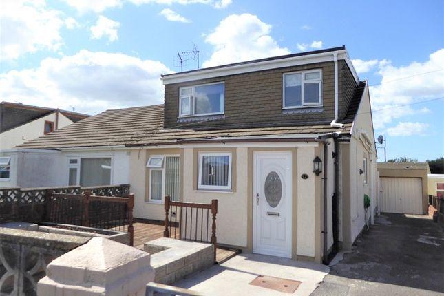 3 bed semi-detached bungalow for sale in North Mead, Sarn, Bridgend, Bridgend County. CF32