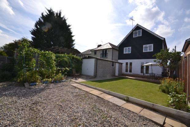 Thumbnail Detached house for sale in Kingsmead Road, Bishops Stortford