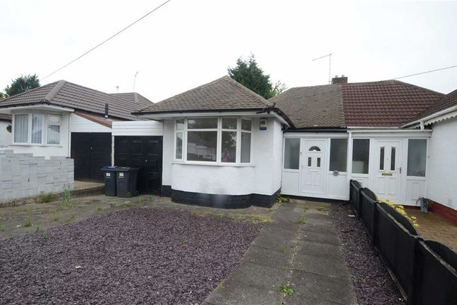 Thumbnail Semi-detached bungalow for sale in Heathland Avenue, Birmingham, Birmingham