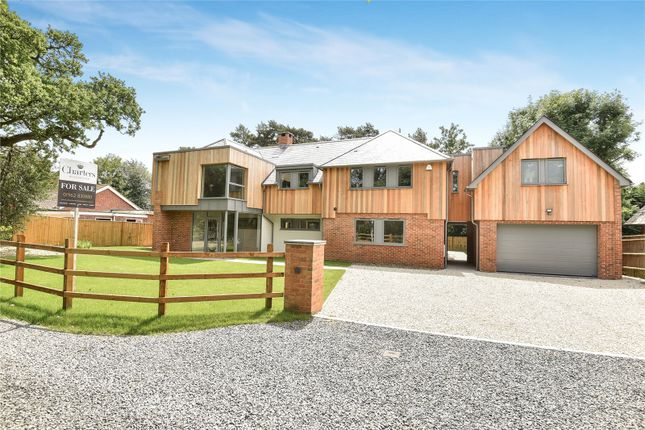 Thumbnail Detached house to rent in Shepherds Lane, Compton, Winchester, Hampshire
