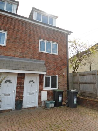 Thumbnail Town house to rent in Birling Road, Snodland