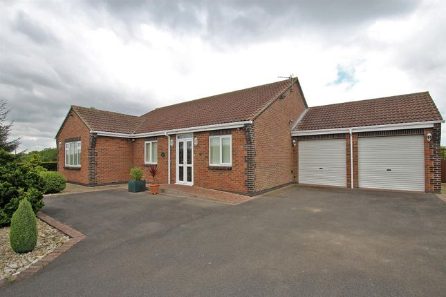 Thumbnail Detached bungalow for sale in Spring Lane, Lambley, Nottingham