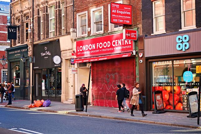 Thumbnail Retail premises to let in 37 Grays Inn Road, London
