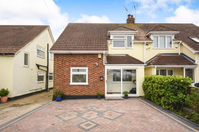 Thumbnail Semi-detached house for sale in Ashingdon, Rochford, Essex