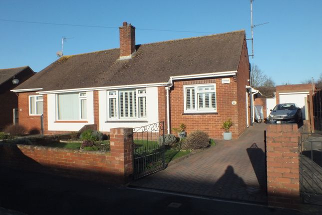 Thumbnail Semi-detached bungalow to rent in Woolsery Avenue, Exeter, Devon