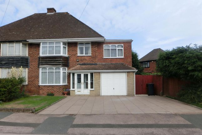 Thumbnail Semi-detached house for sale in Meadow Road, Wythall, Birmingham