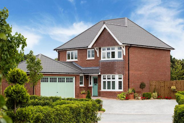 "Thumbnail Detached house for sale in ""Canterbury"" at Chester Road, Penyffordd, Chester"