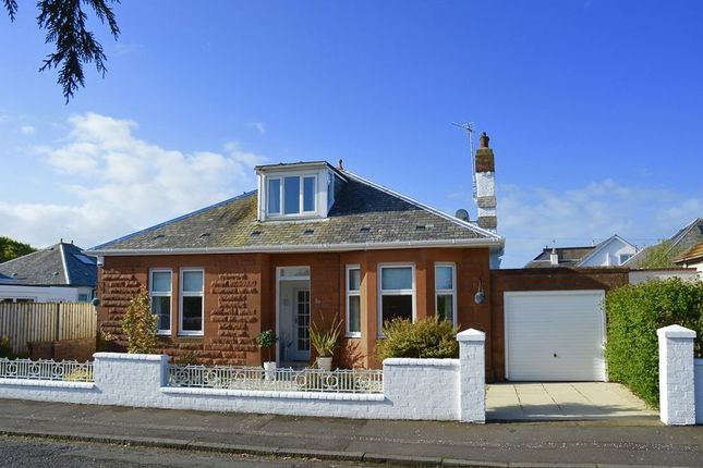 Thumbnail Detached bungalow for sale in Seafield Drive, Seafield, Ayr