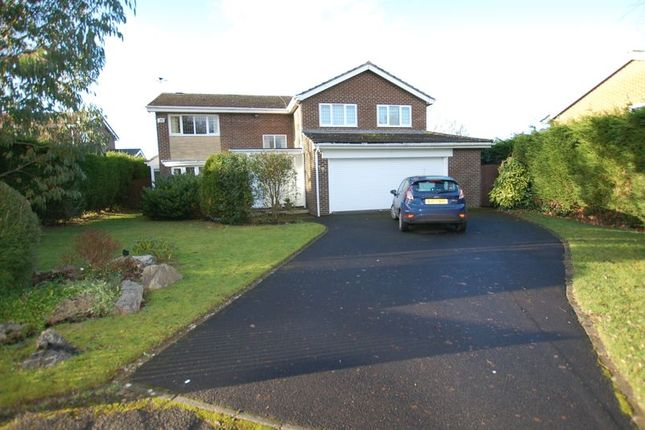 Thumbnail Detached house to rent in Meadowvale, Ponteland, Newcastle Upon Tyne