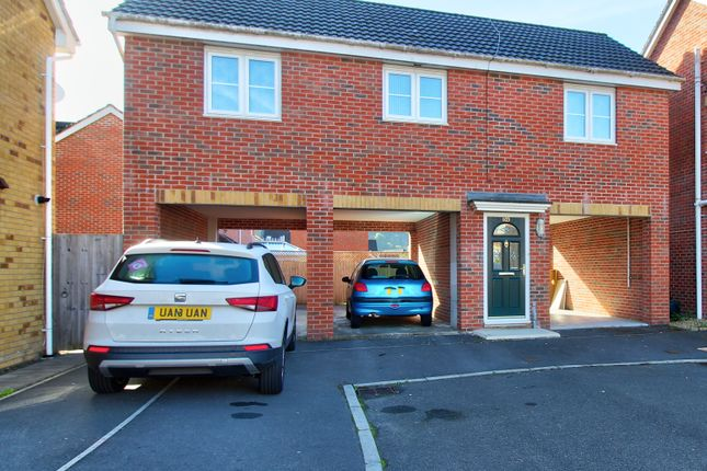 Thumbnail Flat for sale in Coed Celynen Drive, Abercarn, Newport