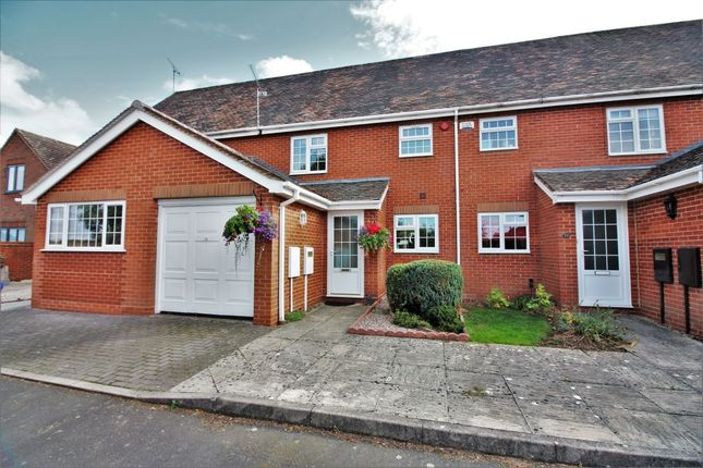 Thumbnail Terraced house to rent in Frythe Close, Kenilworth