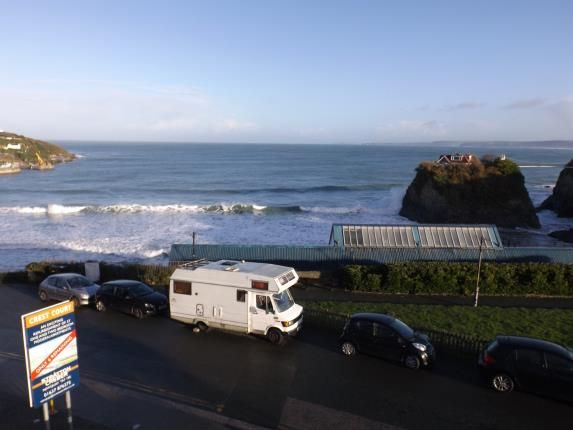 Sea View of The Crescent, Newquay, Cornwall TR7