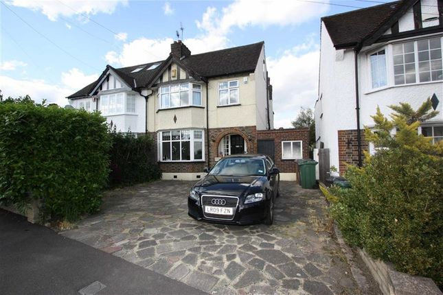 Thumbnail Semi-detached house to rent in Long Deacon Road, North Chingford, London
