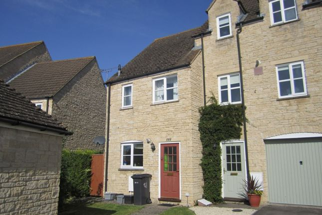 Thumbnail End terrace house to rent in Perrinsfield, Lechlade