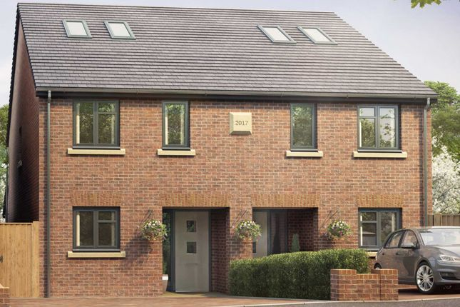 Thumbnail Semi-detached house for sale in Longfield Road, Tring, Hertfordshire
