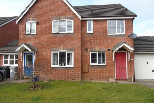 2 bed semi-detached house to rent in James Atkinson Way, Crewe